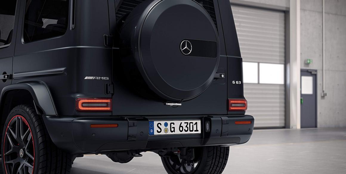 Mercedes-Classe G-tras
