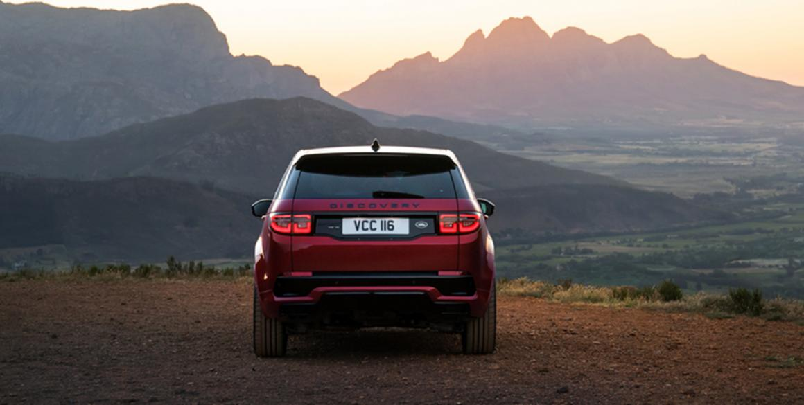 Land Rover Discovery 5-tras