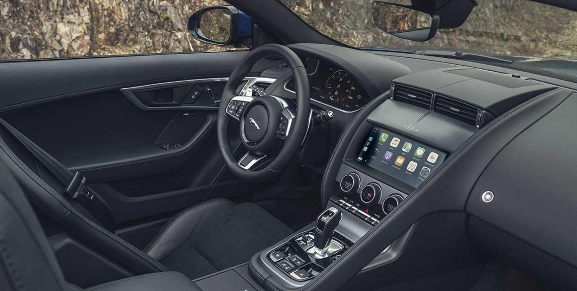 Jaguar F-Type-interior