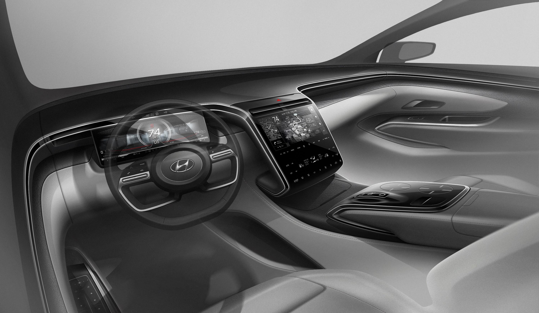 Hyundai Mostra Imagens Da Quarta Geracao Do Tucson 2021