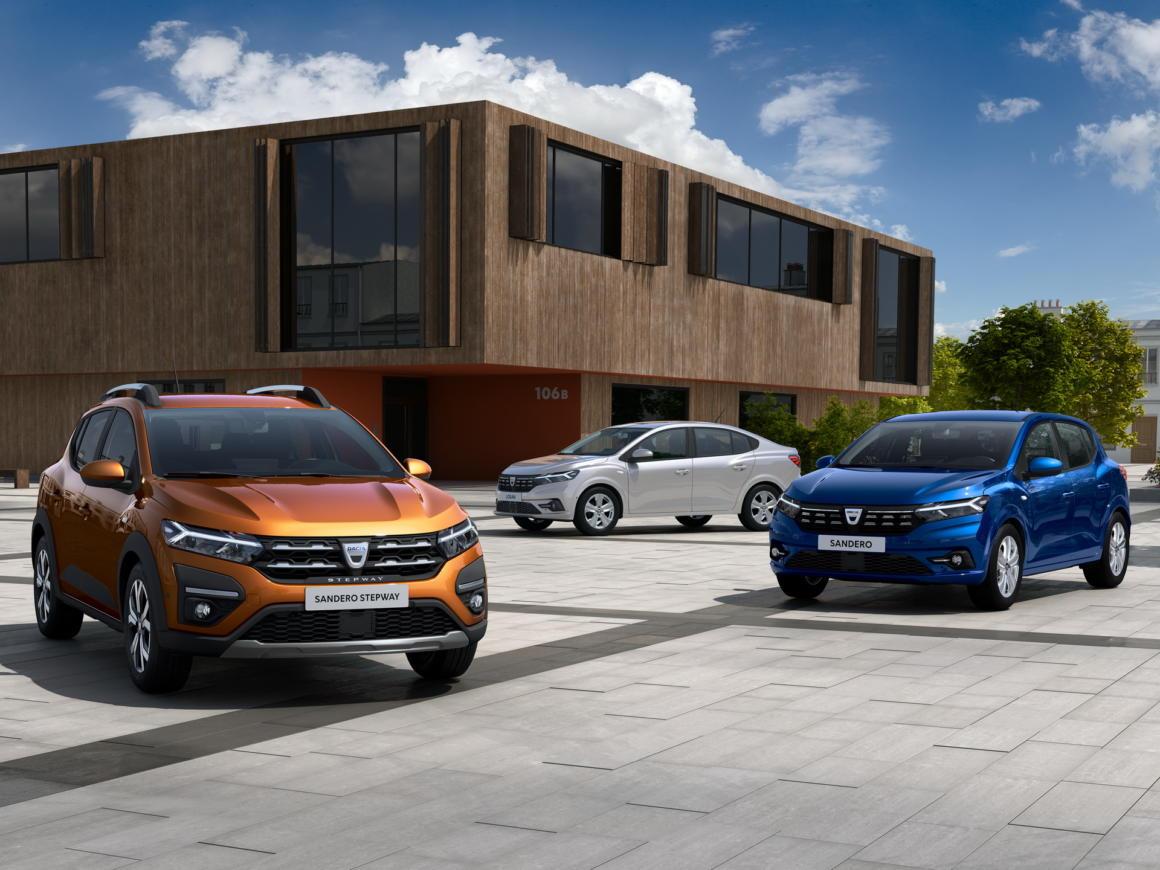Renault Sandero e Logan 2022