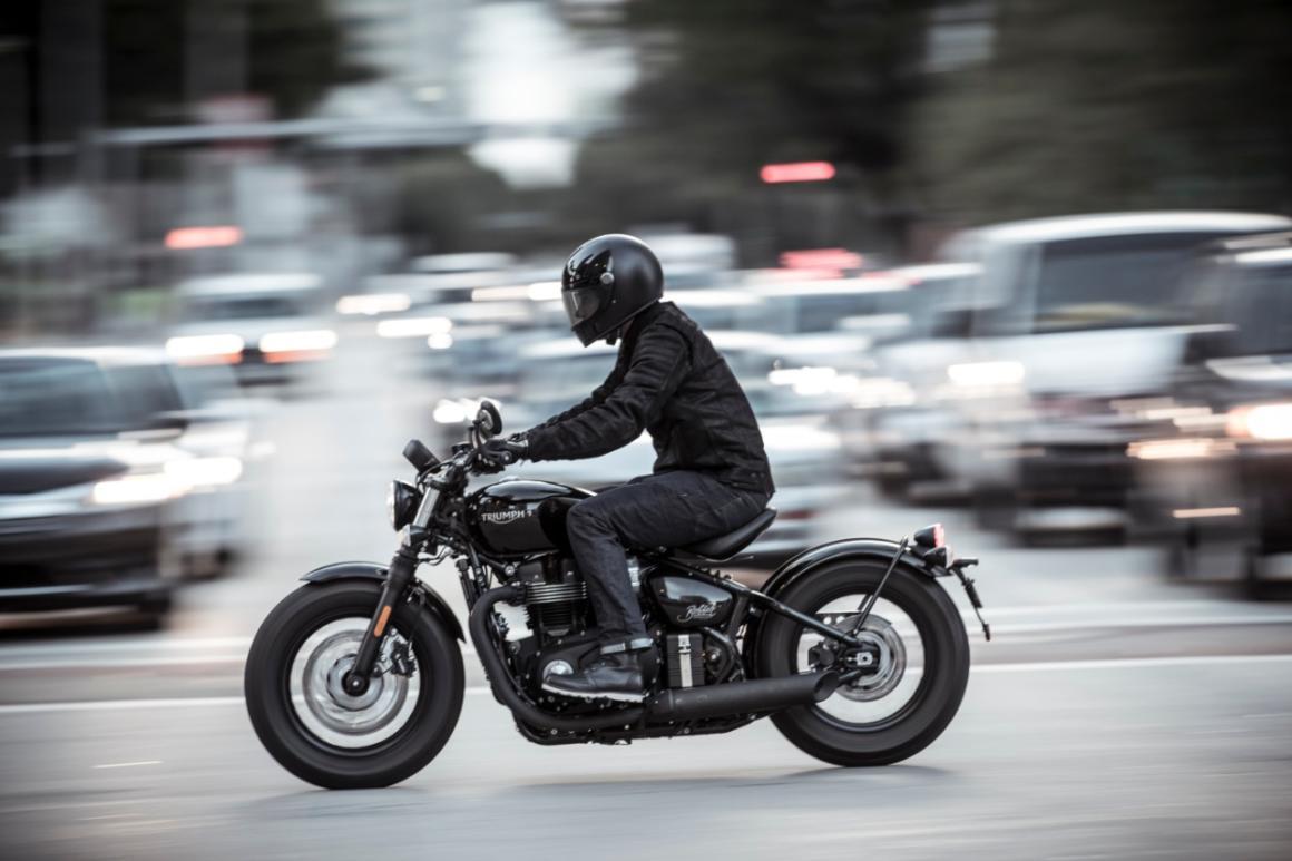 Triumph Bobber Black 2020 0