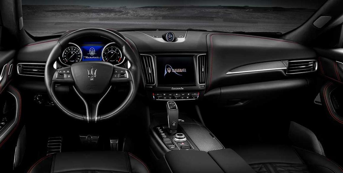 Maserati-Levante-painel