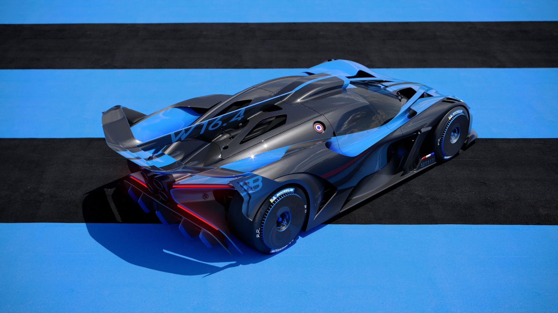 Bugatti Bolide E Monstro De 1 850 Cv E Promete Superar Os 500 Km H