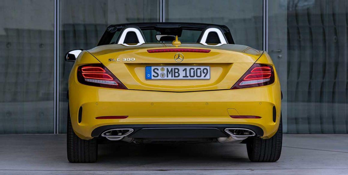 Mercedes SLC300-tras