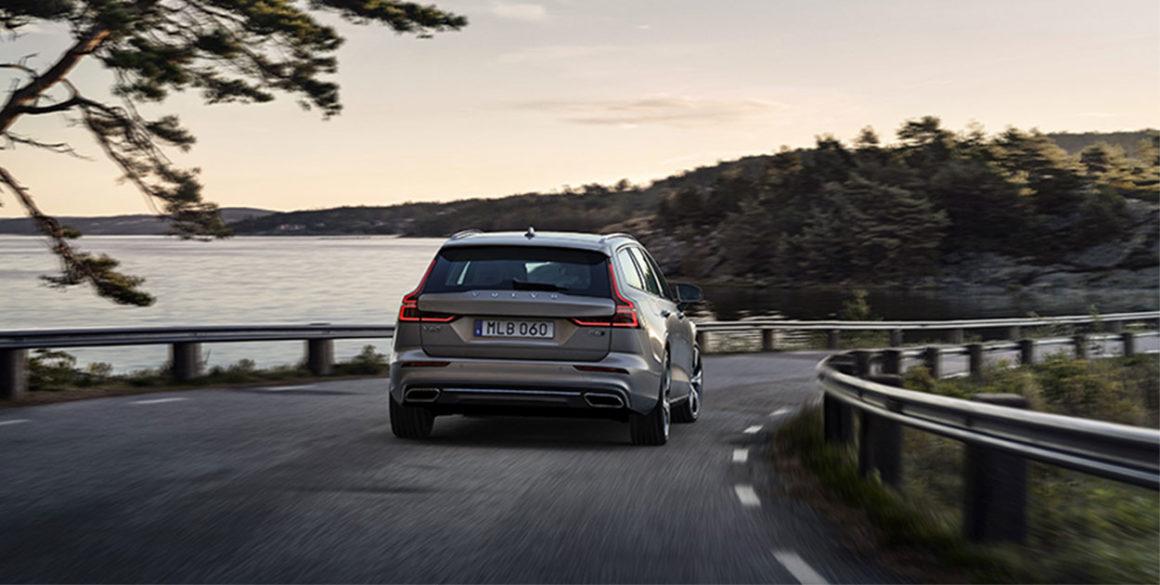 Volvo V60-tras