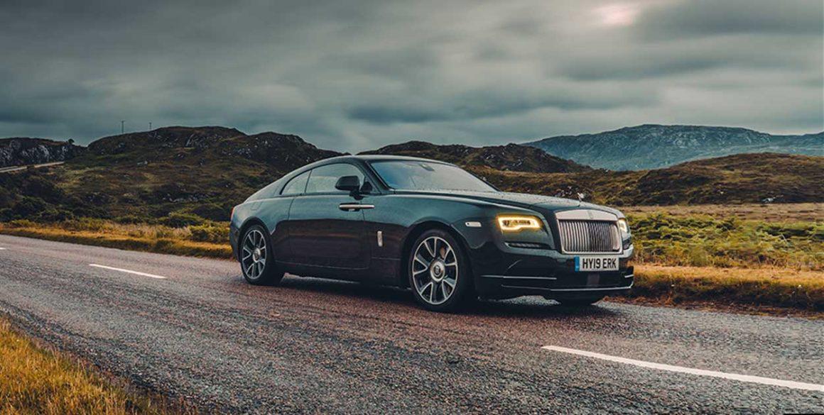 Rolls Royce Wraith-lado