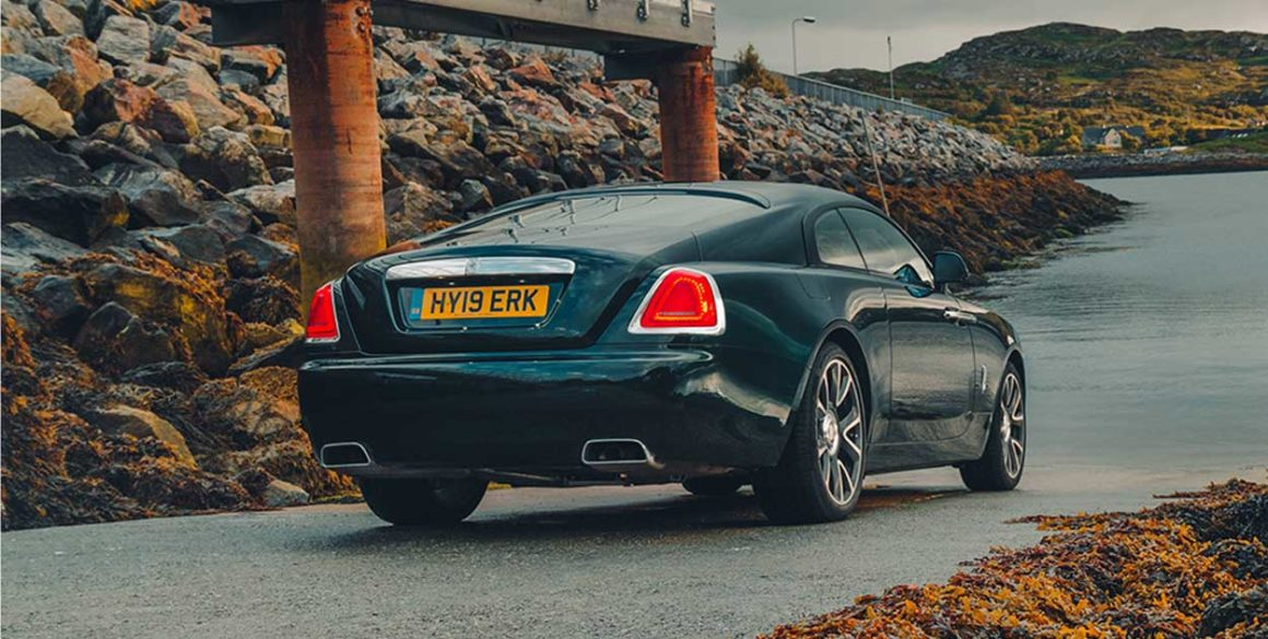 Rolls Royce Wraith-tras