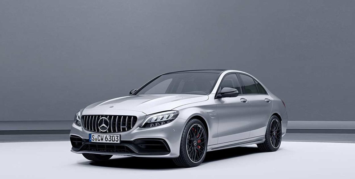 Mercedes AMG-C63-frente