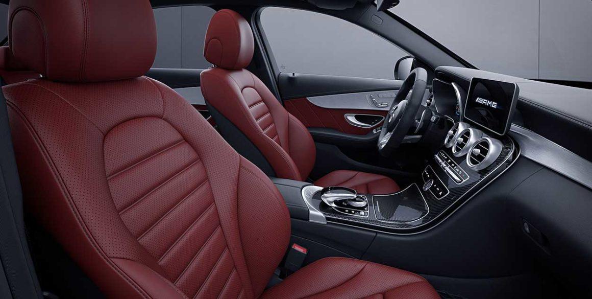 Mercedes AMG-C63-interior