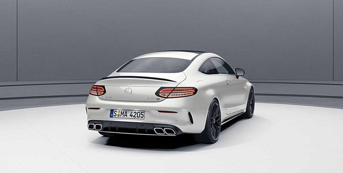 Mercedes AMG-C63-tras