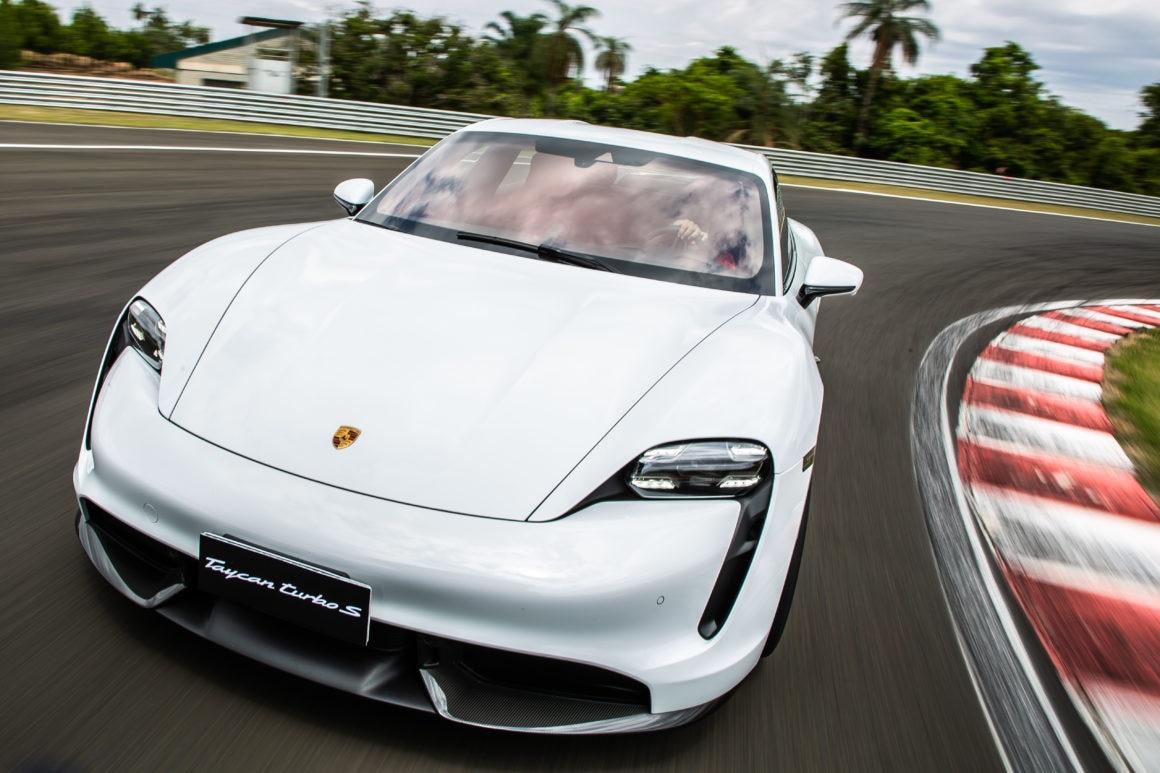 Teste Eletrico Porsche Taycan Turbo S E Um Choque De Adrenalina