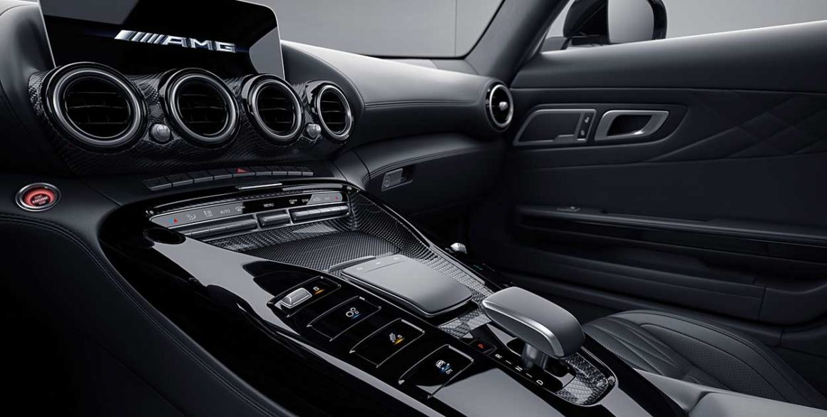Mercedes AMG-GT-cambio