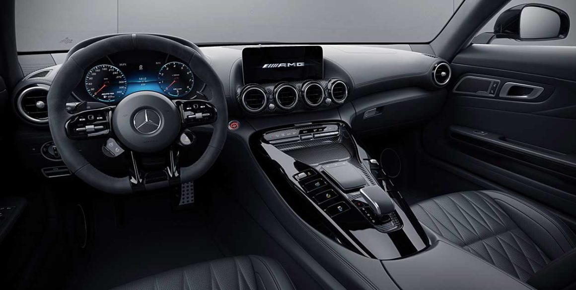 Mercedes AMG-GT-interior