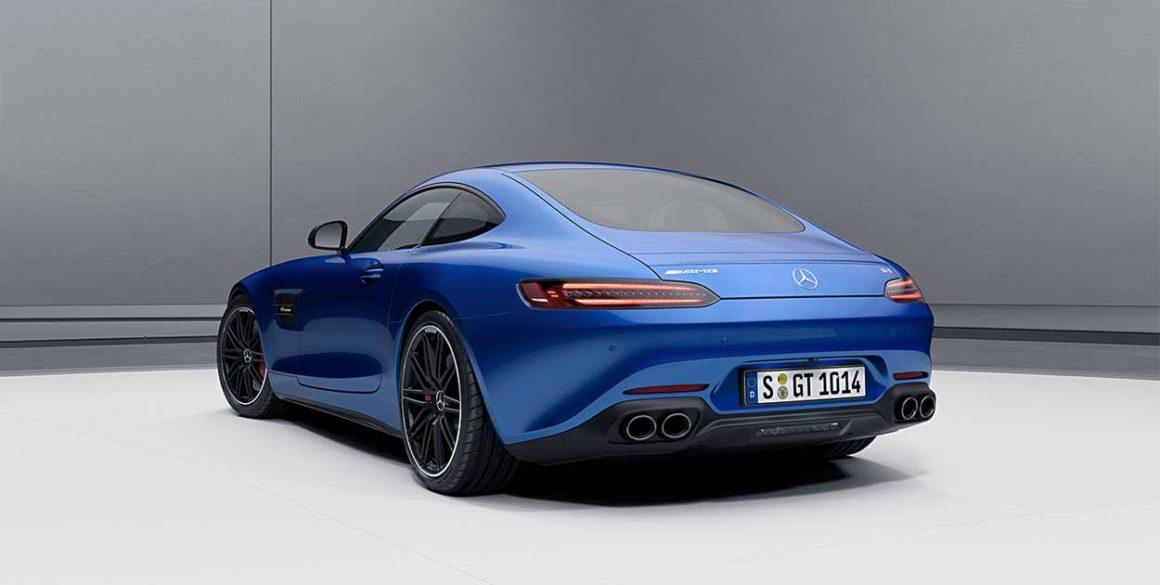 Mercedes AMG-GT-tras