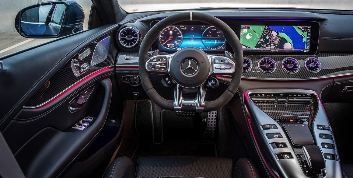 Mercedes AMG-GT-63-interior
