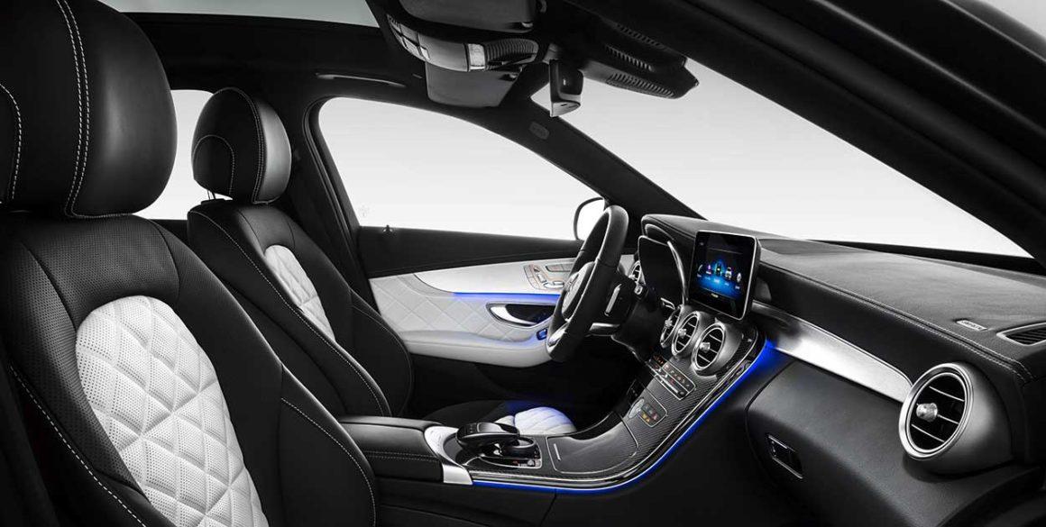 Mercedes-Benz C200-interior