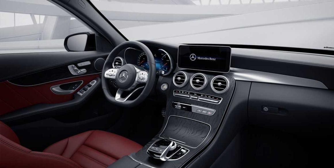 Mercedes C-300-interior3