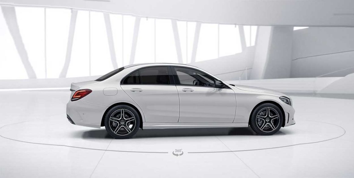 Mercedes C-300-lateral