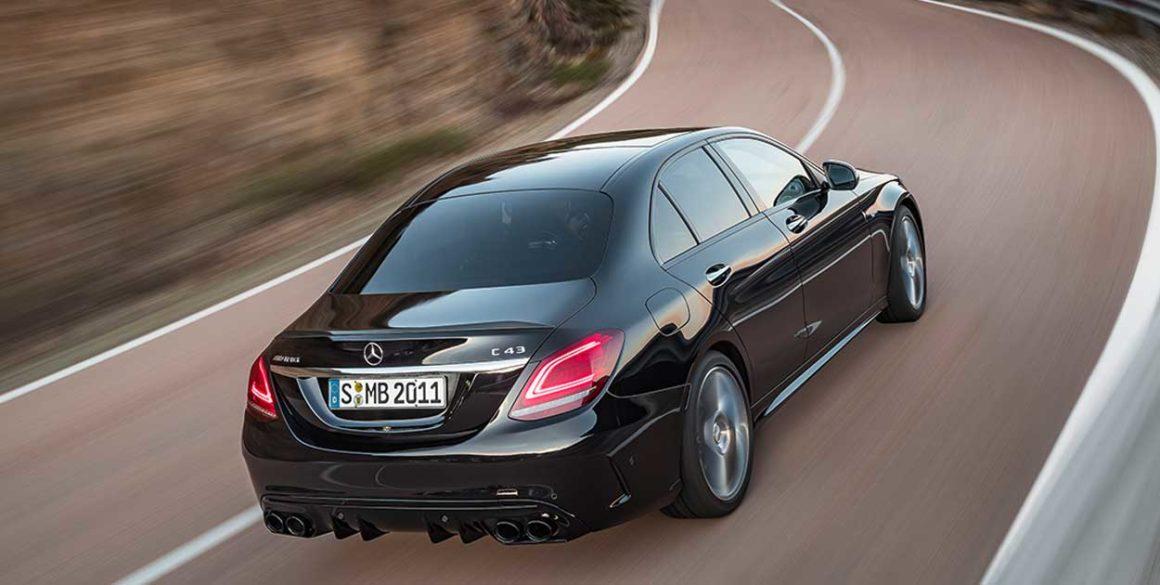 Mercedes AMG-C43-cima