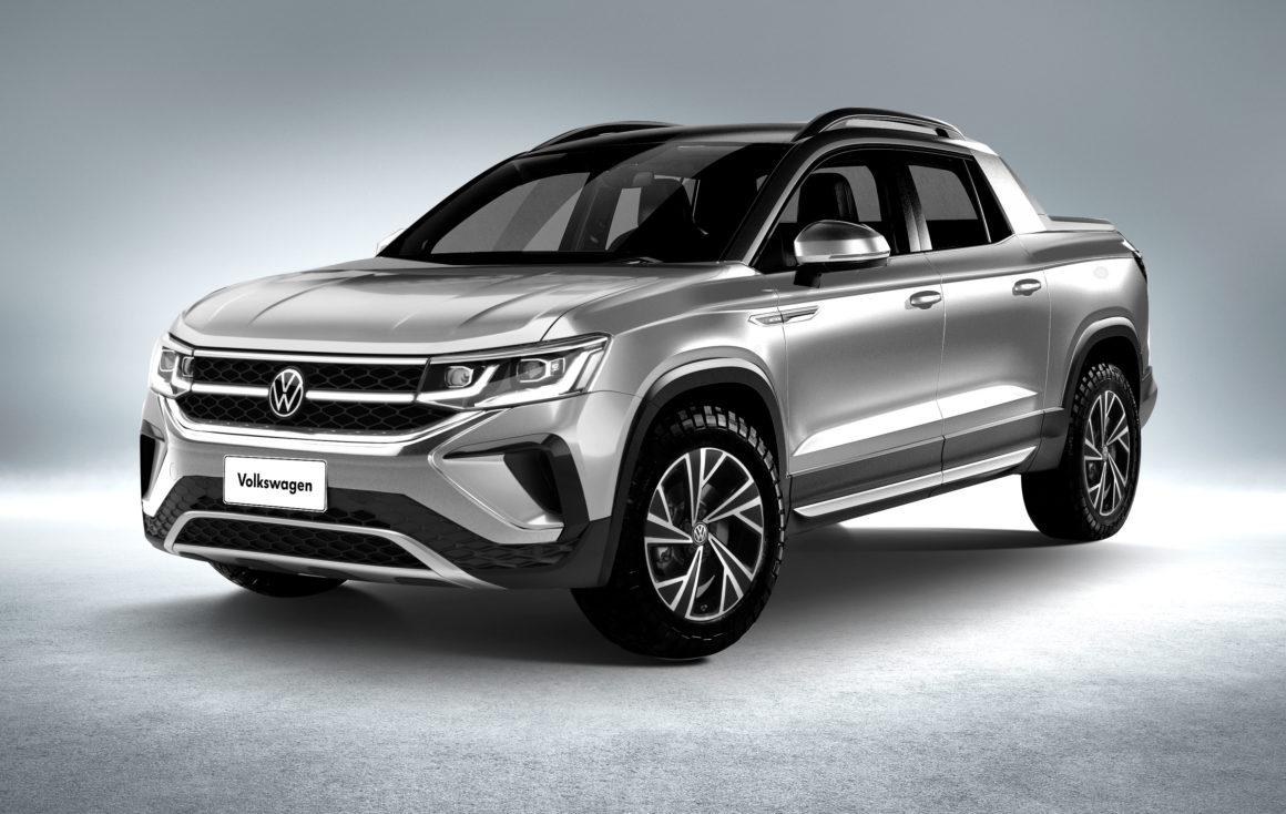 Volkswagen Tarok virá da Argentina a partir de 2022 para brigar com as picapes Maverick, Toro e Tarok