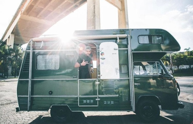 motorhome trailer