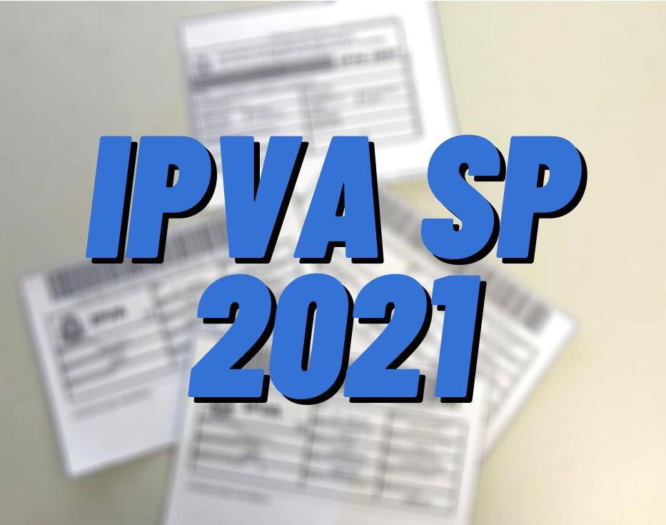 IPVA 2021: pagamento em São Paulo começa quinta