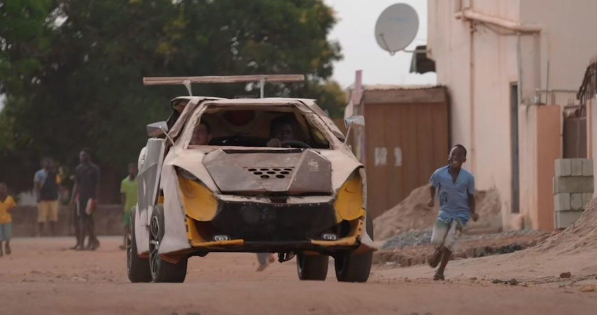 Un joven ghanés construye un vehículo de 200 dólares
