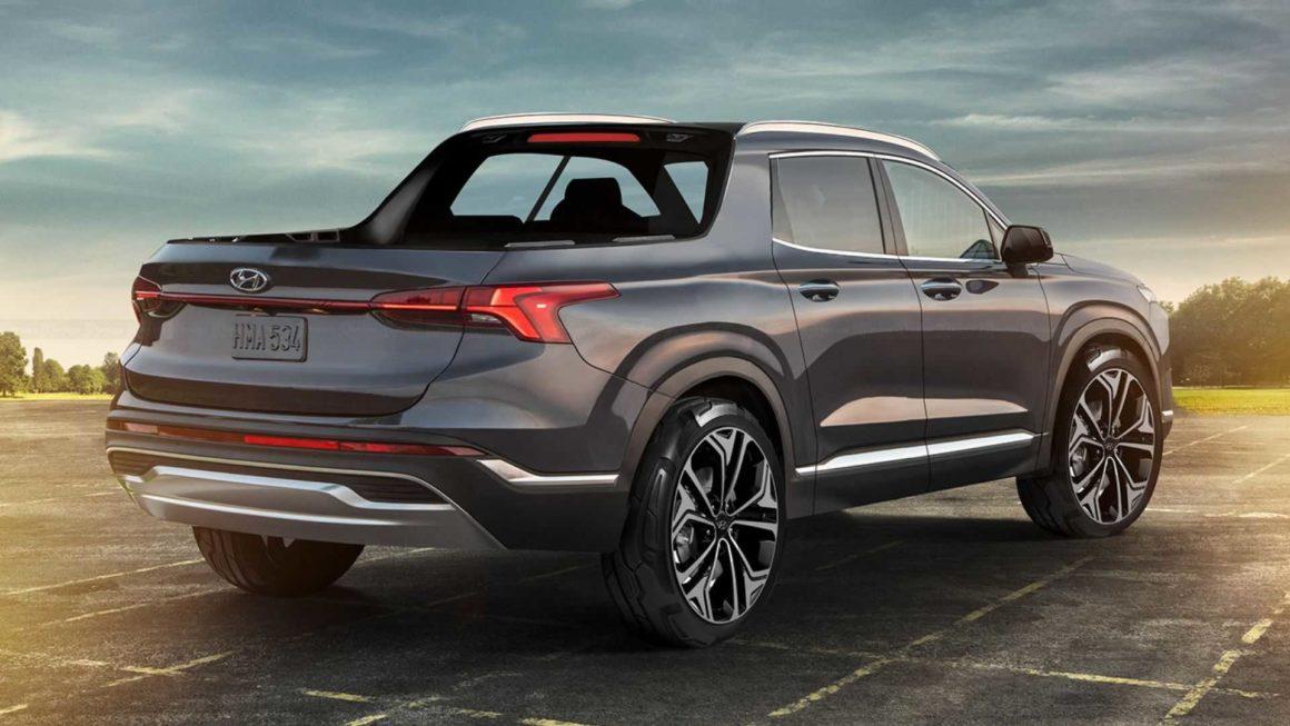 Hyundai vai entrar na briga das picapes com a Santa Cruz
