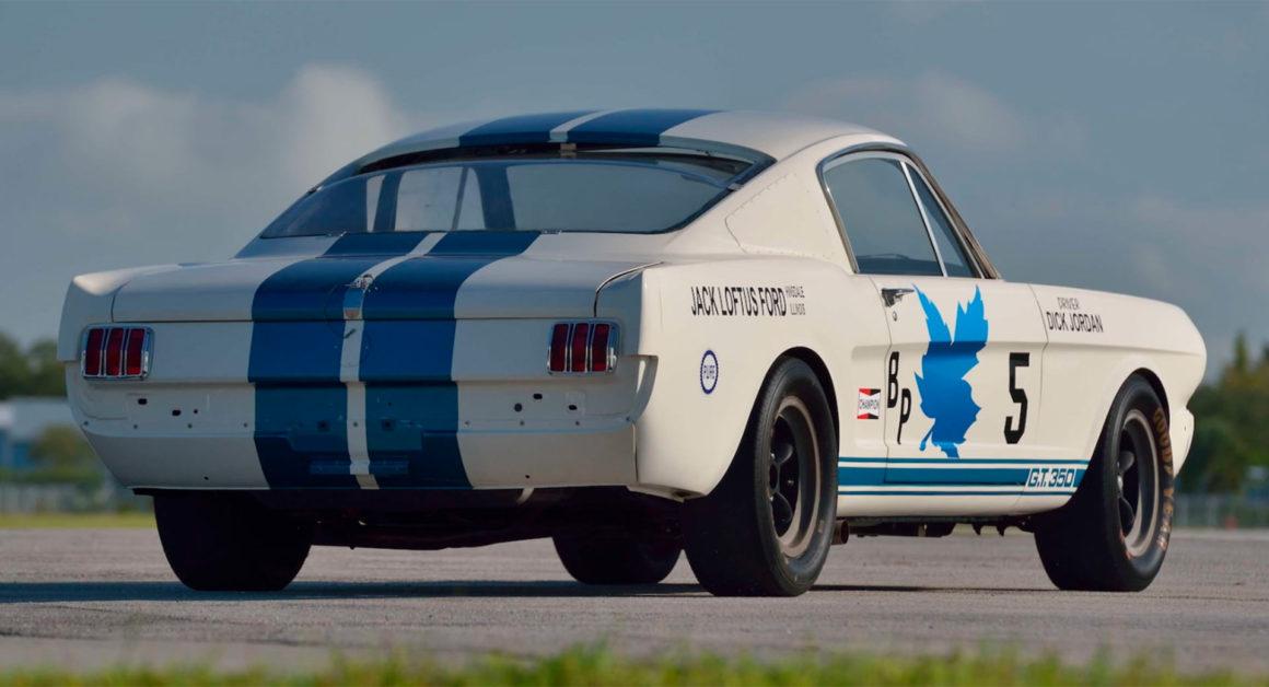 O Mustang Shelby 350R à venda foi preparado por ninguém menos que o lendário Carroll Shelby