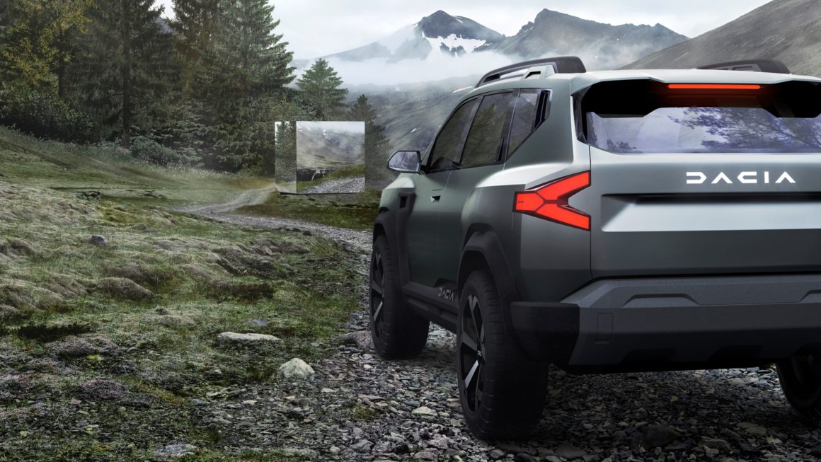 Dacia Bigster Concept antecipa o futuro SUV híbrido de baixo custo da marca romena
