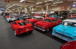 Leilão de muscle cars da GM