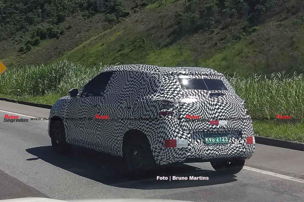 Novo compacto da Citroën é flagrado novamente, agora em Minas Gerais