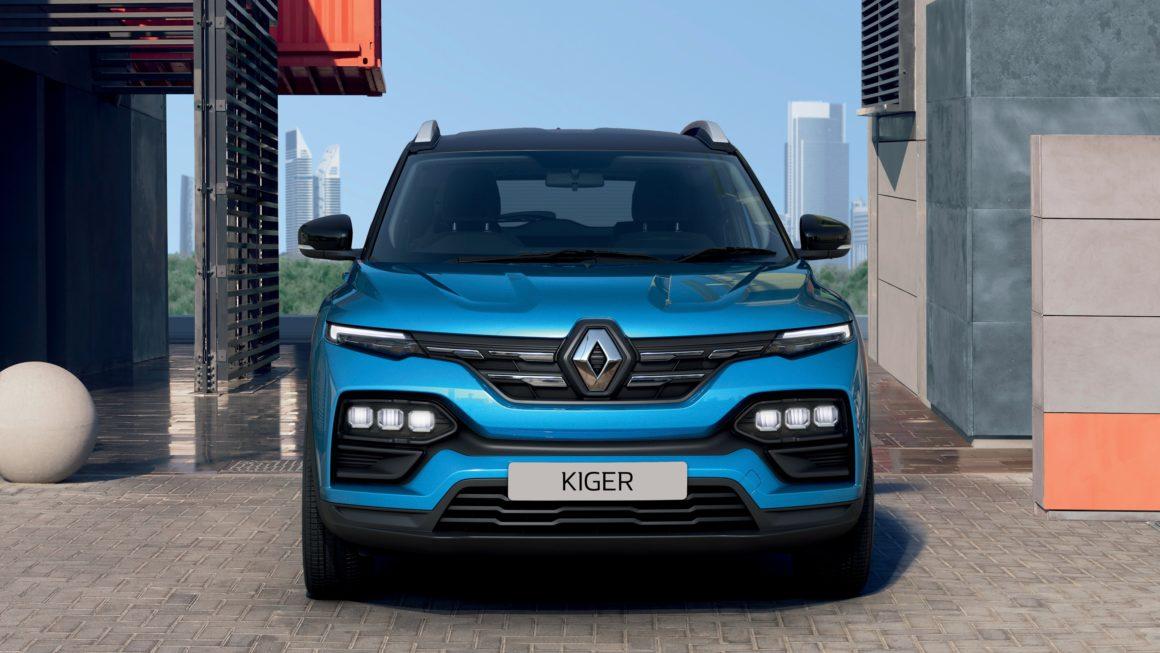 Novo SUV Renault Kiger mostra design influenciado pelo novo Kwid reestilizado