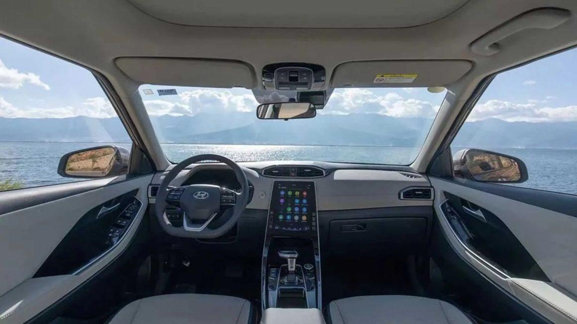 Interior do Hyundai Creta chinês