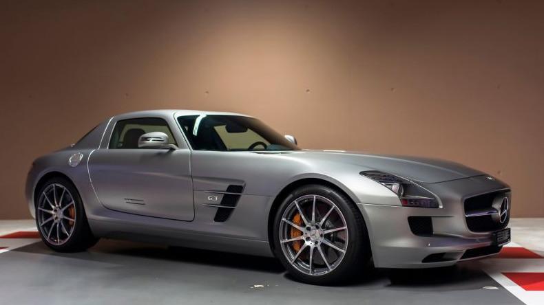 Mercedes-Benz SLS AMG de Sebastian Vettel