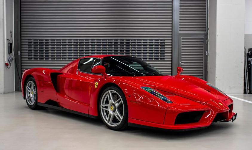 Ferrari F40 de Sebastian Vettel