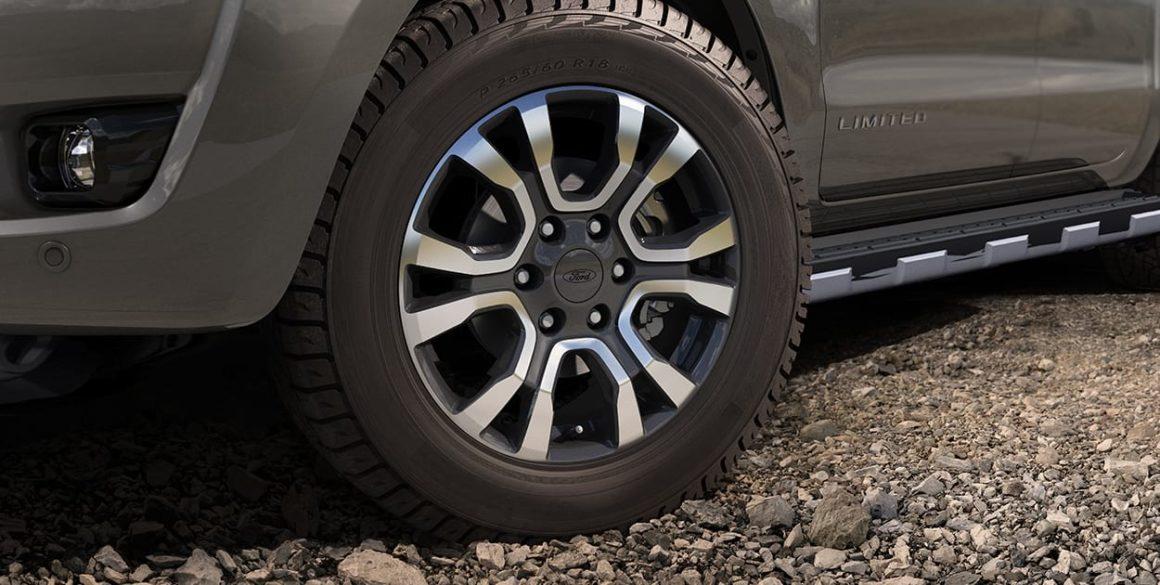 Ranger Limited mantém o acabamento das rodas