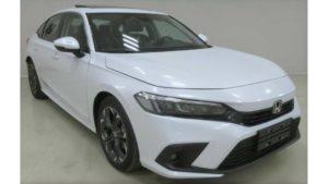 Nova geração do Honda Civic 2022