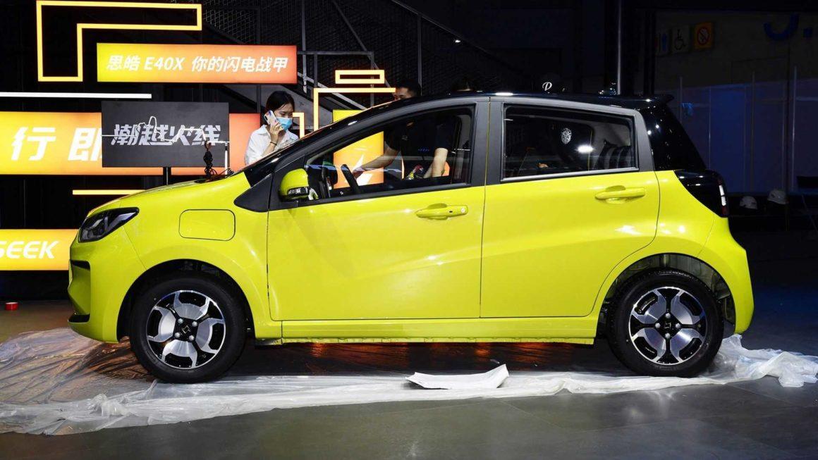 Volkswagen-JAC Si Hao E10X compacto