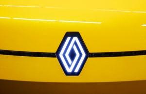Novo logo da Renault
