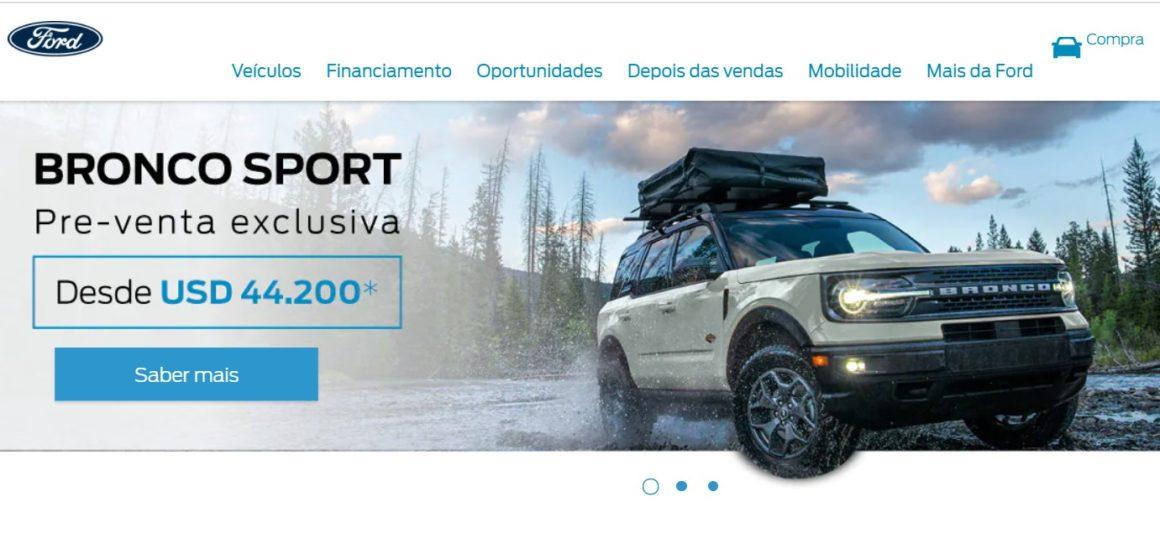 Ford Bronco entra em pré-venda na Argentina