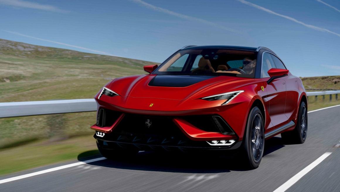 Projeção Ferrari Purosangue