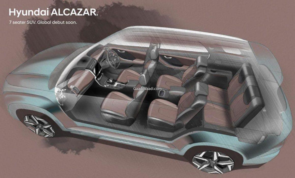 Hyundai Alcazar SUV 7 lugares