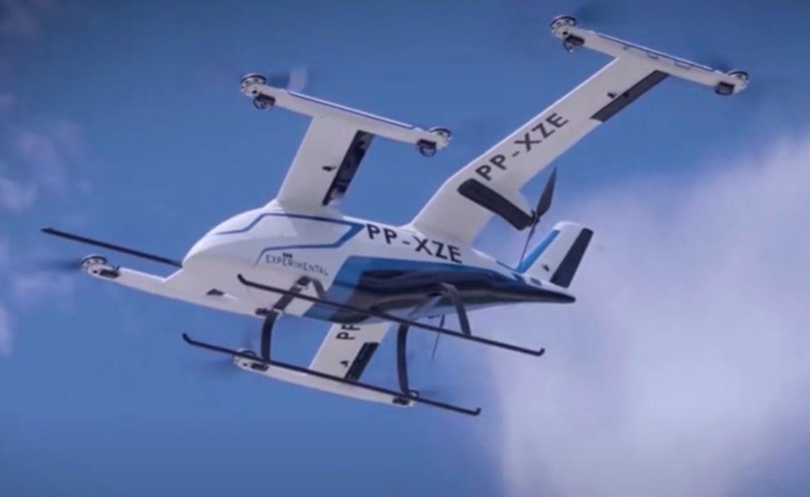 """Primeiro """"táxi-aéreo"""" da Embraer voa no interior de São Paulo"""