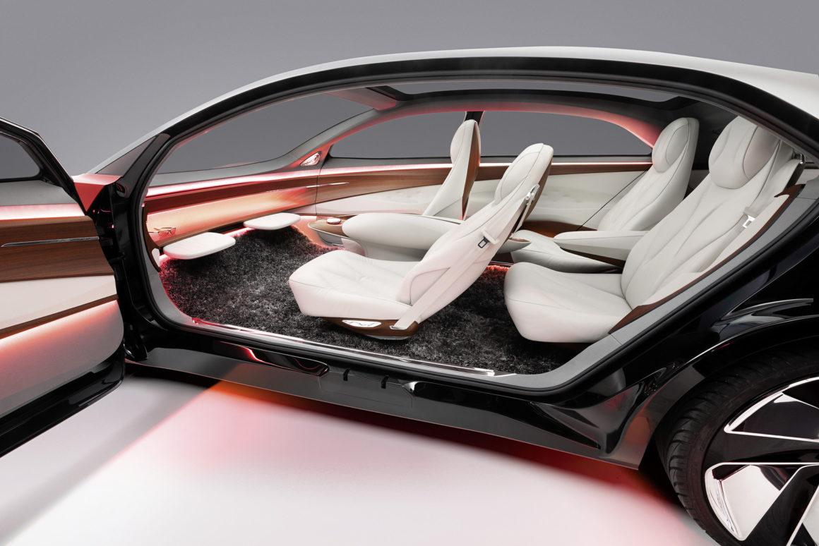 Volkswagen concept car ID. VIZZION