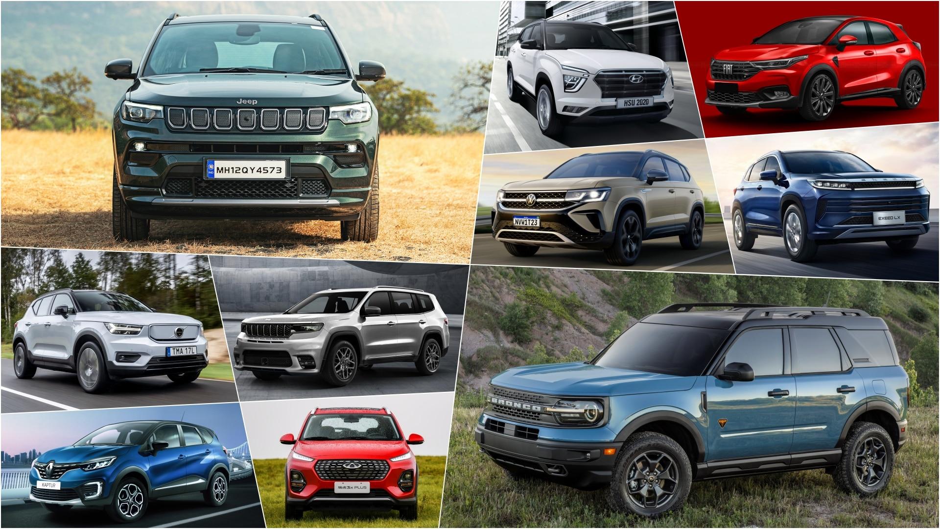 SUVs que serão lançados em 2021