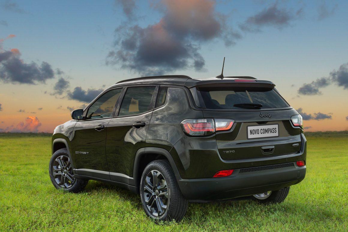 Jeep apresenta Compass reestilizado na série especial de 80 anos da marca