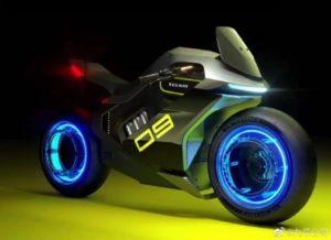 Segway Apex H2 é a moto movida a hidrogênio que saiu do filme Tron