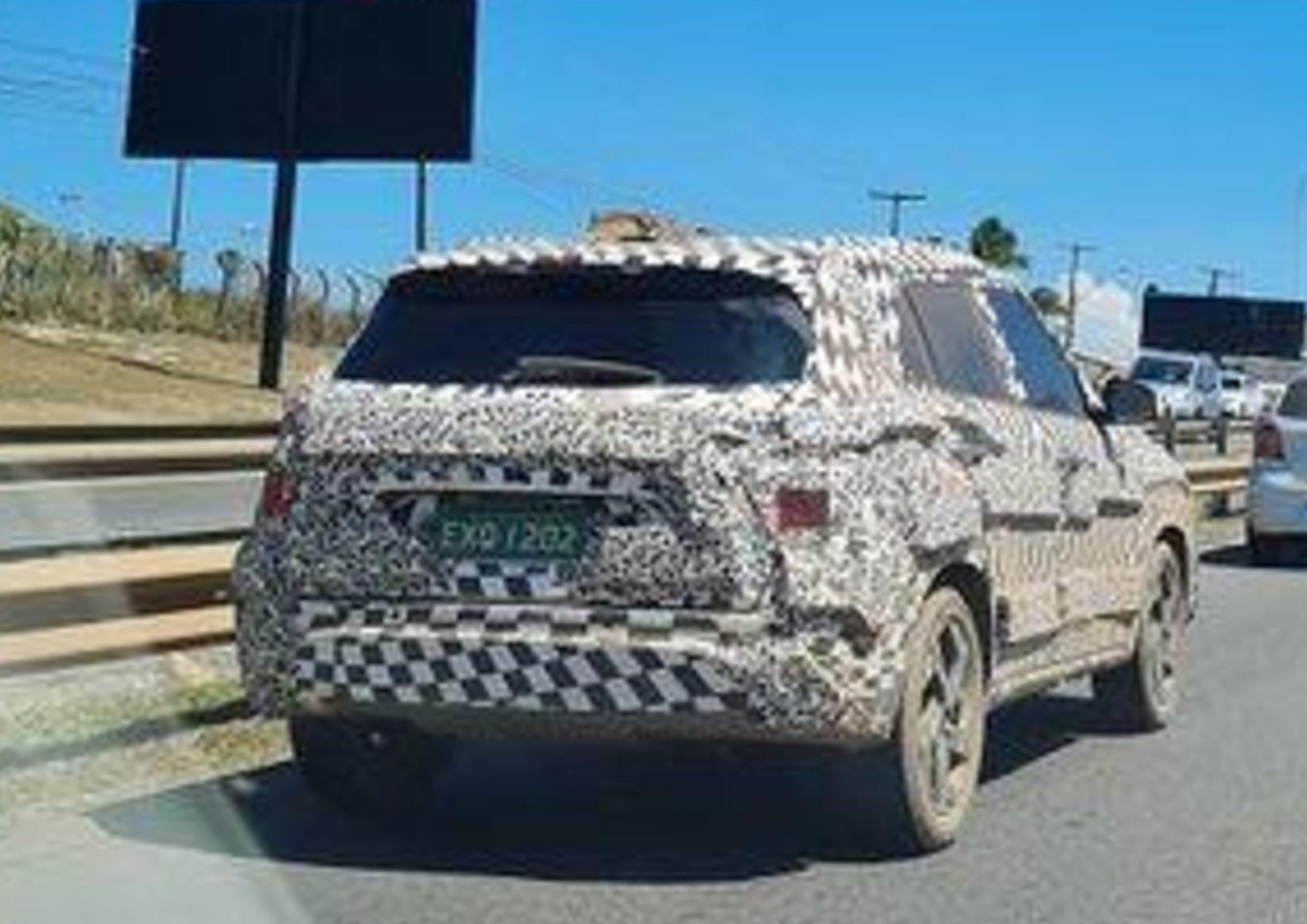 Ford Bronco Sport é flagrado na Bahia um mês antes da apresentação oficial